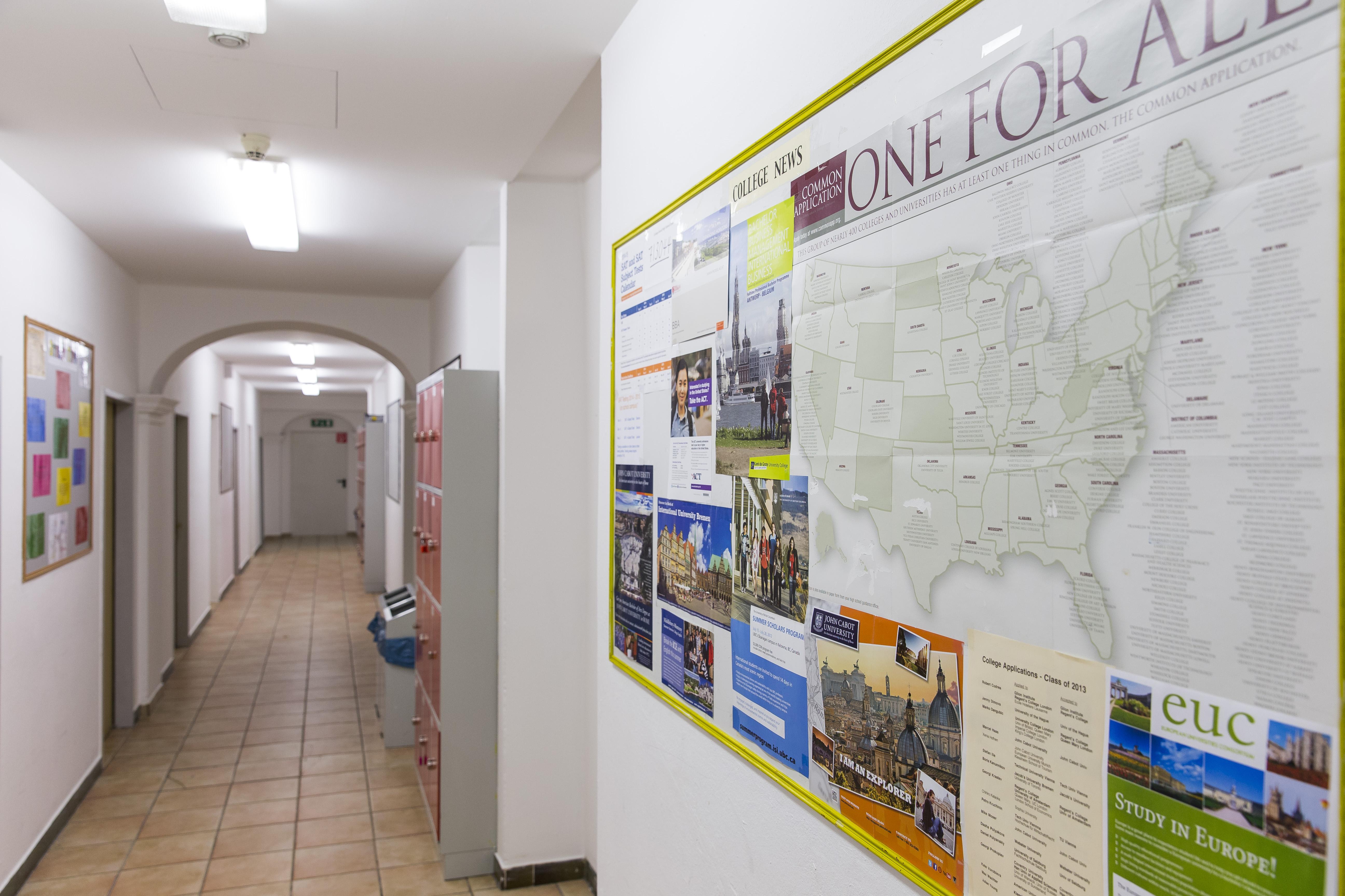 Main building corridor