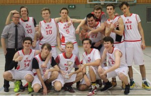 Boys' basketball and girls' volleyball teams @ St. George's School Munich