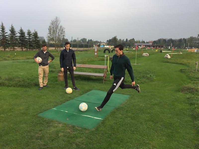 Soccer golf